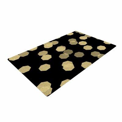Chelsea Victoria Confetti Noir Black/Gold Area Rug