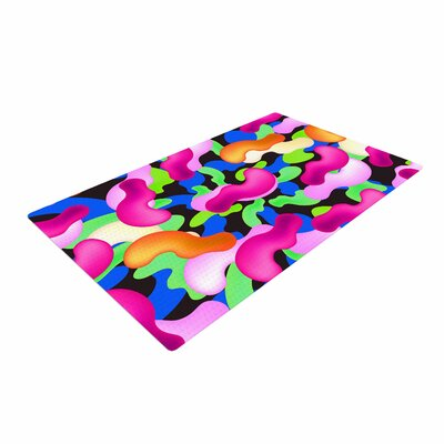 Danny Ivan Thing Purple/Pink Area Rug