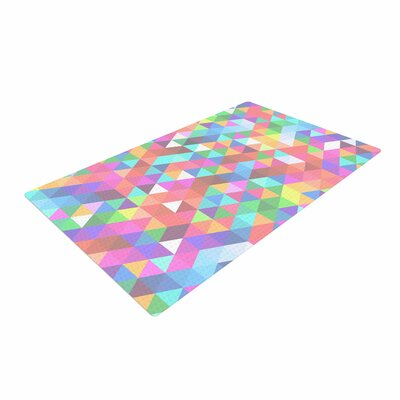 Fimbis Marques Pink/Purple Area Rug Rug Size: 4 x 6