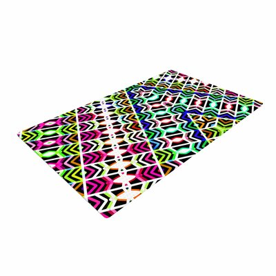Dawid Roc Colorful Tribal Pattern Multicolor Area Rug