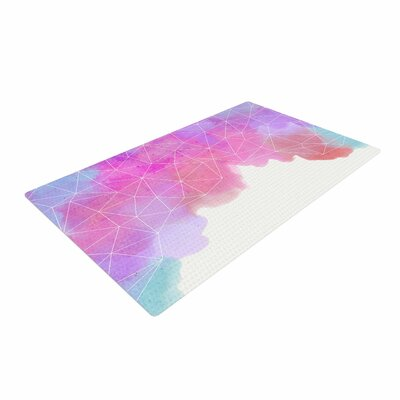 Cafelab Spring Shadows Purple/Pastel Area Rug