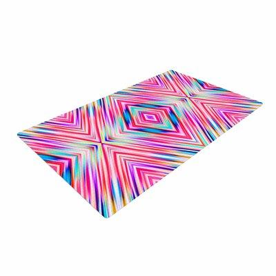 Dawid Roc Spring Summer Geometric Digital Pastel Area Rug