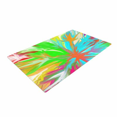 Dan Sekanwagi Tropical Paradise Abstract Rainbow Area Rug