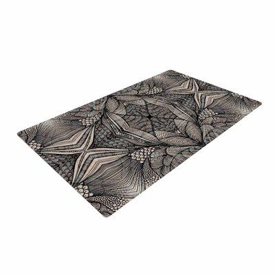Gill Eggleston Fantazia Gray/Beige/Black Area Rug Rug Size: 4 x 6