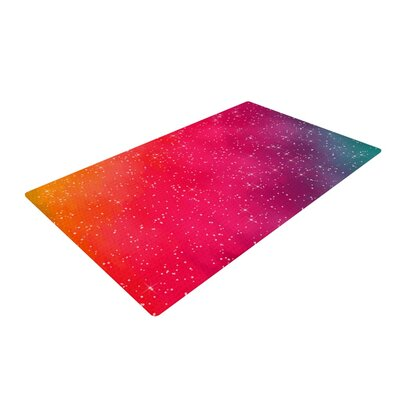 Fotios Pavlopoulos Constellation Pink/Glam Area Rug Rug Size: 2 x 3