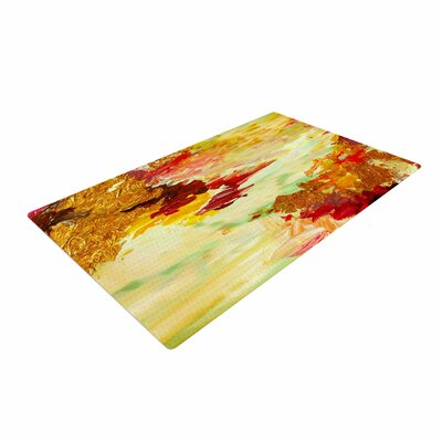 Ebi Emporium On Cloud Nine - 5 Yellow/Brown Area Rug Rug Size: 4 x 6