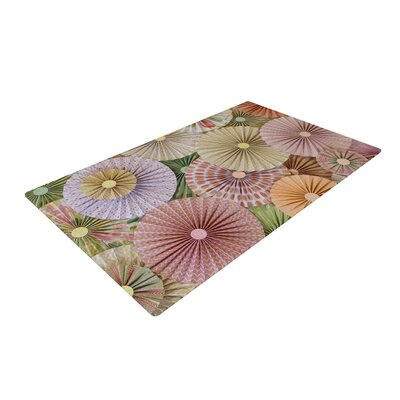 Heidi Jennings Spring Abstract Pastel Area Rug Rug Size: 2 x 3
