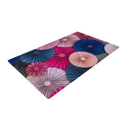 Heidi Jennings Magenta/Blue/Pink Area Rug Rug Size: 2 x 3