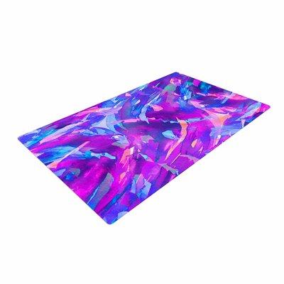 Ebi Emporium Motley Flow 2 Purple/Blue Area Rug Rug Size: 4 x 6
