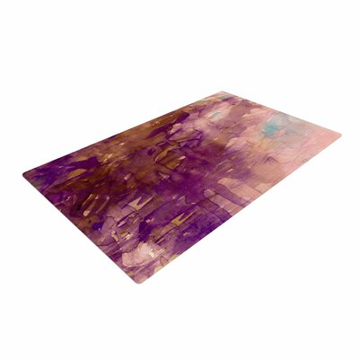 Ebi Emporium Carnival Dreams 4 Purple/Brown Area Rug Rug Size: 4 x 6