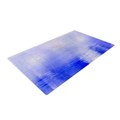 Iris Lehnhardt Lavender Blue/White Area Rug Rug Size: 2 x 3
