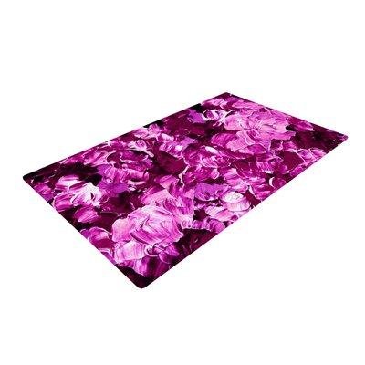 Ebi Emporium Floral Fantasy III Magenta Purple Area Rug
