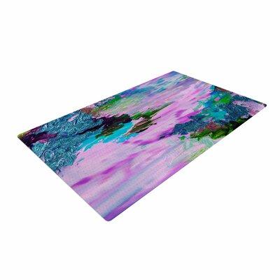 Ebi Emporium On Cloud Nine - 4 Pink/Teal Area Rug Rug Size: 4 x 6