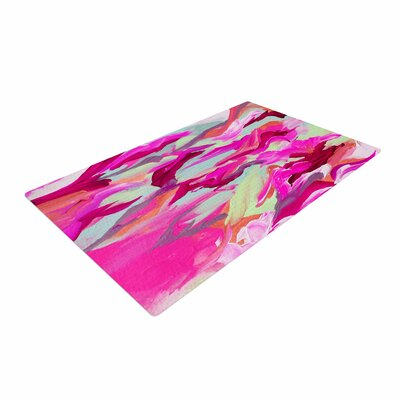 Ebi Emporium Still Up in the Air 3 Pink/Magenta Area Rug Rug Size: 4 x 6