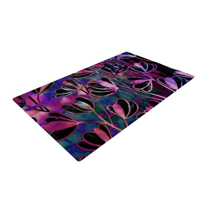 Ebi Emporium Efflorescence Mixed Berry Pink/Purple Area Rug Rug Size: 2 x 3