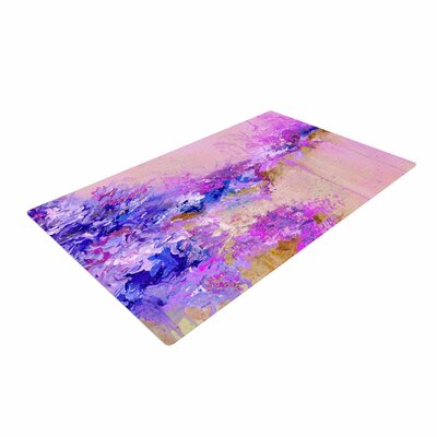 Ebi Emporium When Land Met Sky 2 Purple/Pink Area Rug Rug Size: 4 x 6