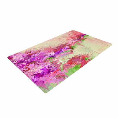 Ebi Emporium When Land Met Sky 3 Pink/Green Area Rug Rug Size: 4 x 6