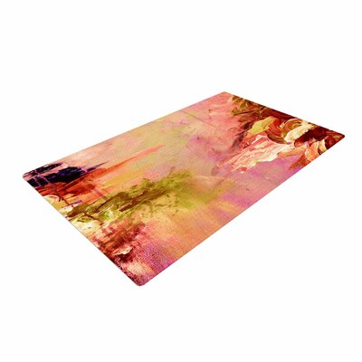 Ebi Emporium Winter Dreamland 3 Pink/Orange Area Rug Rug Size: 4 x 6