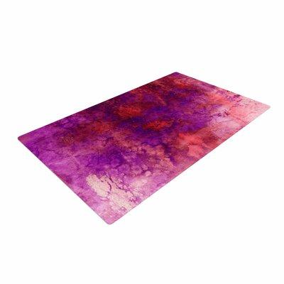 Ebi Emporium Epoch 3 Red/Purple Area Rug