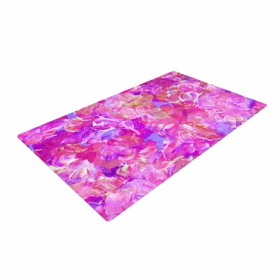 Ebi Emporium Bloom on! Abstract Purple/Pink Area Rug