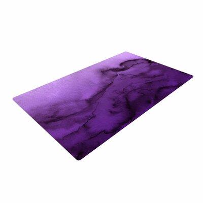 Ebi Emporium Winter Waves 9 Abstract Purple Area Rug