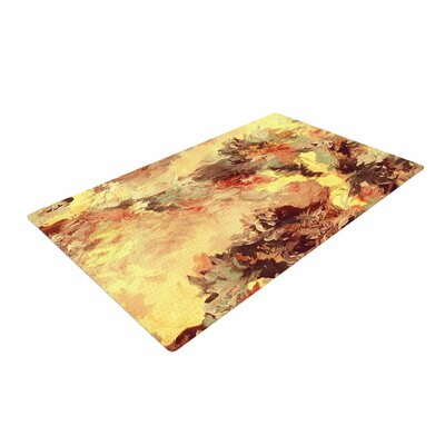 Ebi Emporium When We Were Mermaids 9 Yellow/Tan Area Rug Rug Size: 4 x 6