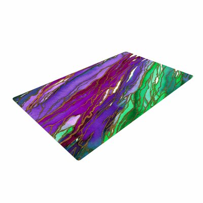 Ebi Emporium Agate Magic Green/Lavender Area Rug