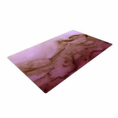 Ebi Emporium Winter Waves 8 Pink/Tan Area Rug Rug Size: 4 x 6