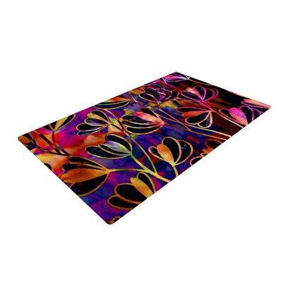 Ebi Emporium Efflorescence Deep Jewel Pink/Rainbow Area Rug Rug Size: 2 x 3