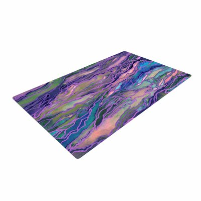 Ebi Emporium Marble Idea! Geological Purple Area Rug Rug Size: 4 x 6