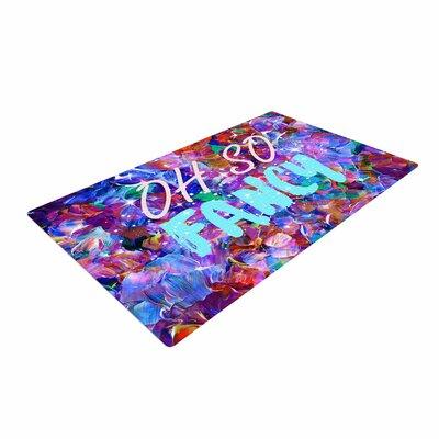 Ebi Emporium Oh So Fancy Blue/Purple Area Rug Rug Size: 4 x 6