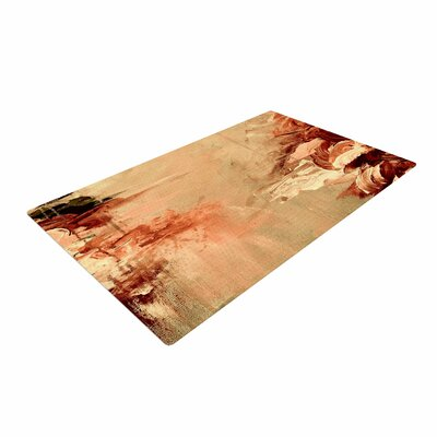 Ebi Emporium Winter Dreamland 7 Orange/Maroon Area Rug Rug Size: 4 x 6