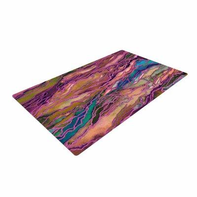 Ebi Emporium Marble Idea! - Light Jewel Tone Lavender/Pink Area Rug Rug Size: 4 x 6
