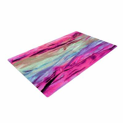 Ebi Emporium Unanchored 4 Pink/Lavender Area Rug Rug Size: 4 x 6