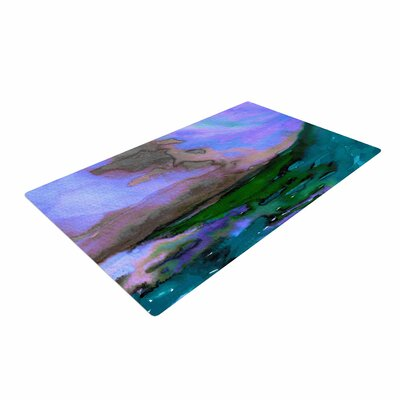 Ebi Emporium Elevated 3 Purple/Blue/Teal Area Rug
