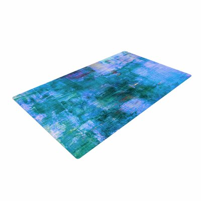 Ebi Emporium The Reef Blue/Teal Area Rug Rug Size: 4' x 6'