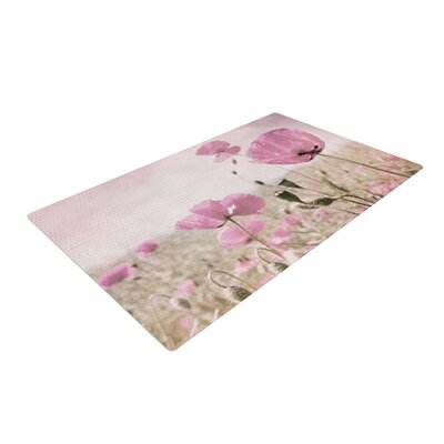 Iris Lehnhardt Summer Dream Floral Pink Area Rug