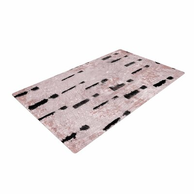 Iris Lehnhardt Texture and Pattern 1 Pink Area Rug