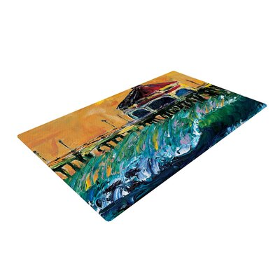 Josh Serafin Offshore Beauty Coastal Area Rug Rug Size: 2 x 3