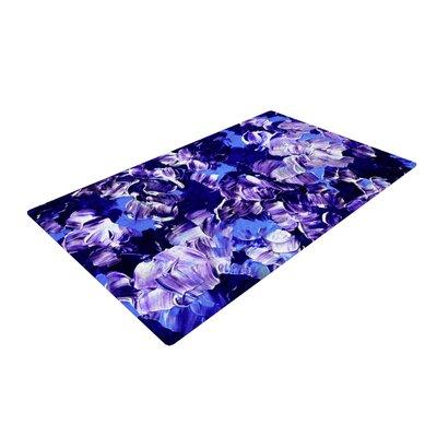 Ebi Emporium Floral Fantasy Purple Area Rug