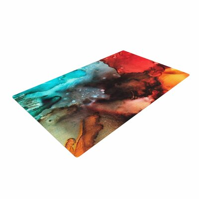Abstract Anarchy Design Birth Place of the Heavens Abstract Multicolor Area Rug