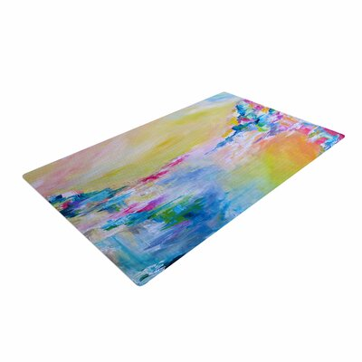 Ebi Emporium Something about the Sea Yellow Area Rug Rug Size: 4 x 6