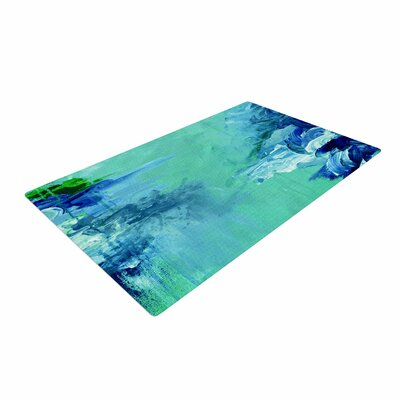 Ebi Emporium Winter Dreamland 6 Green/Blue Area Rug Rug Size: 4 x 6