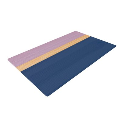 Spring Swatch Wood Blue/Purple Area Rug