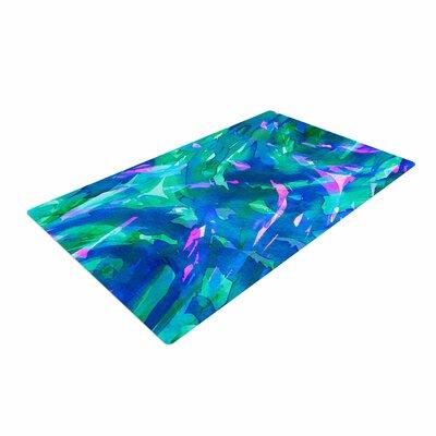 Ebi Emporium Motley Flow 5 Blue/Teal Area Rug Rug Size: 4 x 6