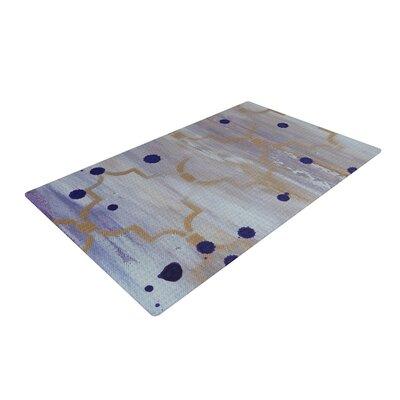 Kira Crees Lush Gray/Blue Area Rug Rug Size: 2 x 3