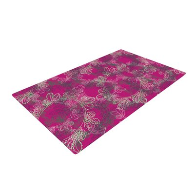 Patternmuse Jaipur Berry Purple/Pink Area Rug