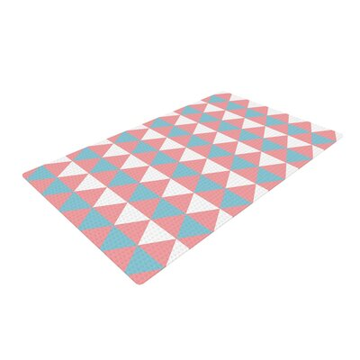 Be Still Blue/Pink Area Rug