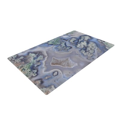 Geode Blue/Green/Pastel Area Rug