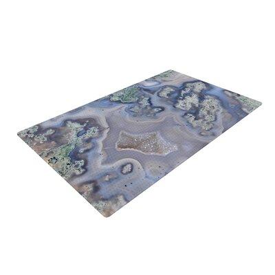 Geode Blue/Teal Area Rug